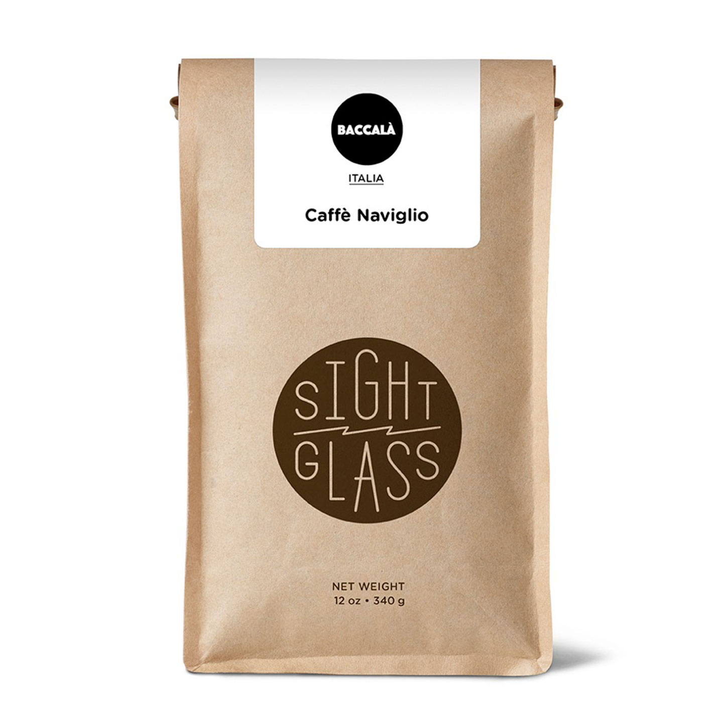 Caffè Naviglio Espresso - 12oz Bag - Roasted by Sightglass Coffee for Baccala