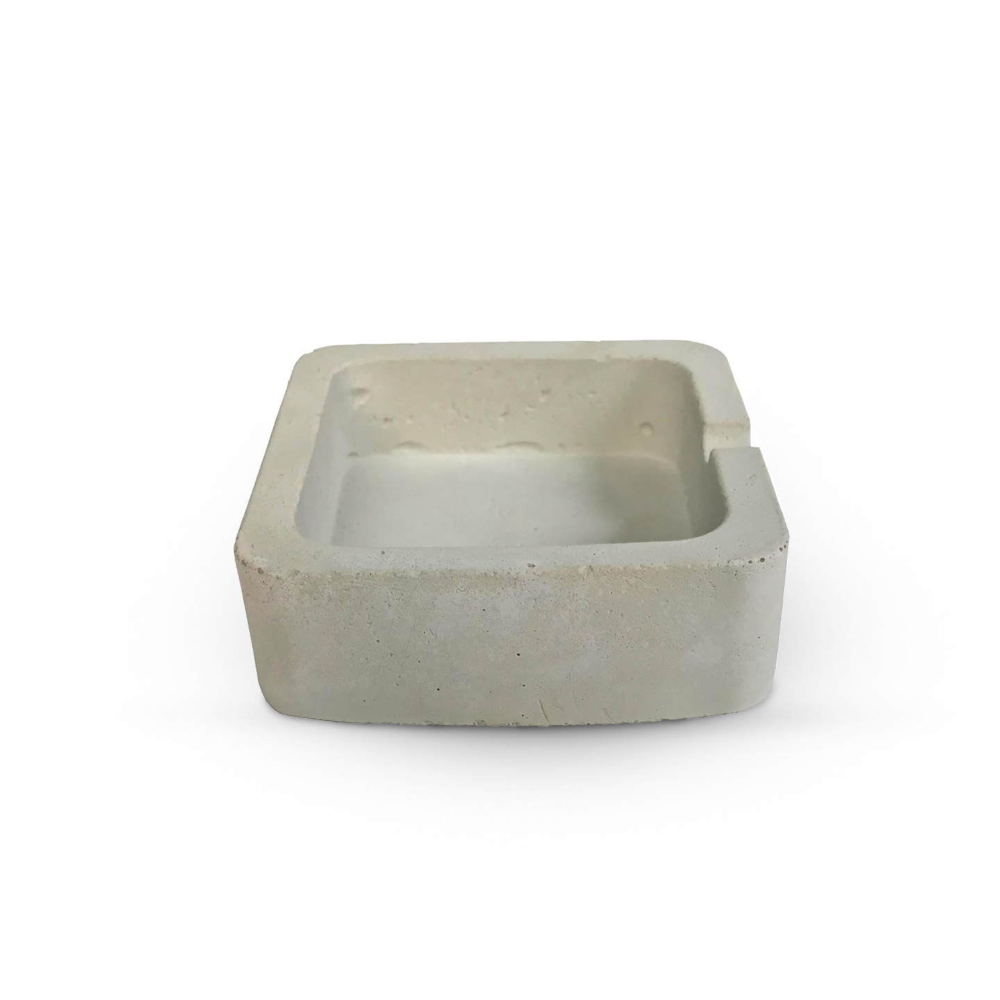 Baccala - Magazine - Products - Handmade Square Ashtray - Natural